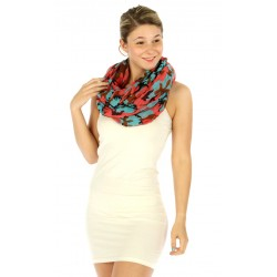 Colorful Camouflage Infinity Scarf