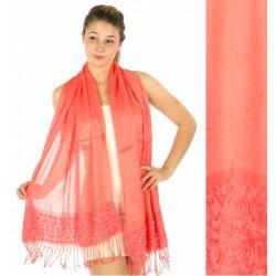 Lace Rosette Shawl