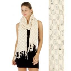 Oblong Knit Scarf